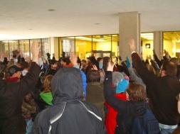 Occupy Muncie Protest