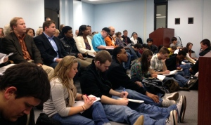 BSU Students at Planning Mtg