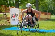 Para-triathlete
