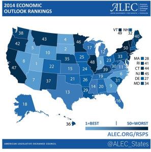 Map of ALEC Study